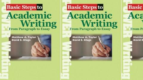Basic Steps to Academic Writing