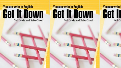 Get It Down: You can write in English