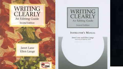Writing Clearly: An Early Editing Guide Second Edition