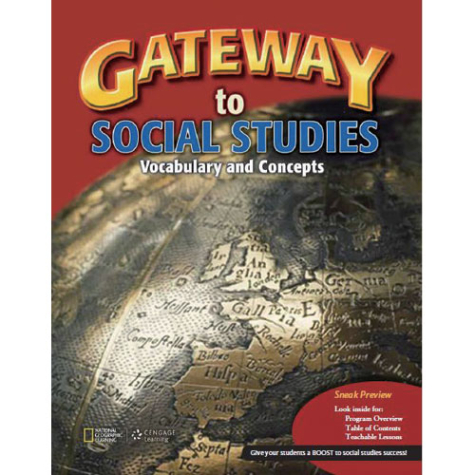 Gateway to Social Studies   - Vocabulary and Concepts