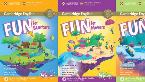 Fun for Starters, Movers and Flyers Fourth edition