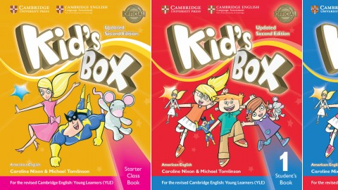 Kid's Box American English Updated Second edition (for updated YLE Exams)