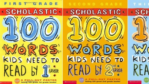 Workbook activitybook - 100 words kids need to read