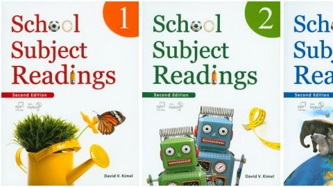 School Subject Readings Second Edition