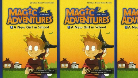 Magic Adventures - Graded Comic Readers