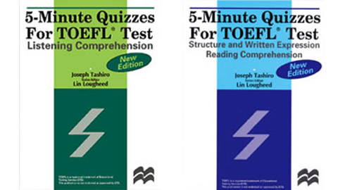 5-Minute Quizzes for TOEFL Test