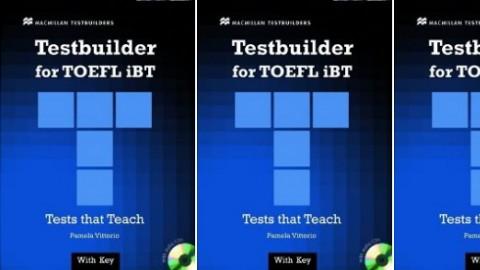 TOEFL® iBT Testbuilder - TOEFL® iBT テストビルダー