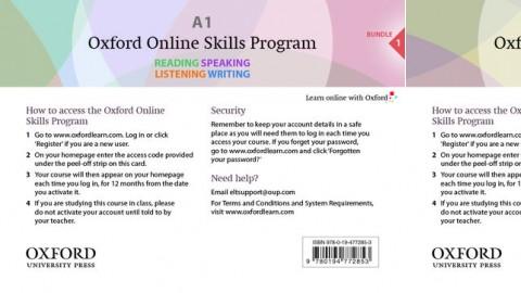 Oxford Online Skills Program