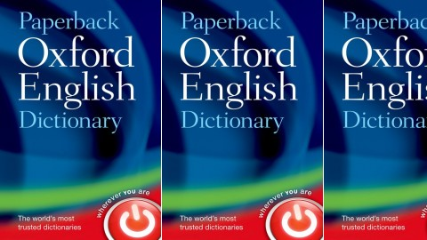 Paperback Oxford English Dictionary Seventh Edition