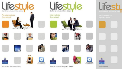 Lifestyle Intermediate Coursebook: English for work, socializing & travel