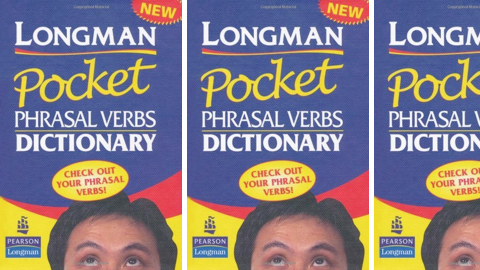 Longman Pocket Phrasal Verbs Dictionary