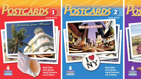 Postcards 1 with Student CD-ROM