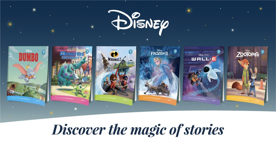 Pearson English Kids Readers: Disney Kids Readers