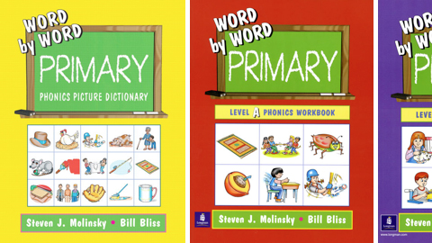 word by word primary phonics picture dictionary by steven j