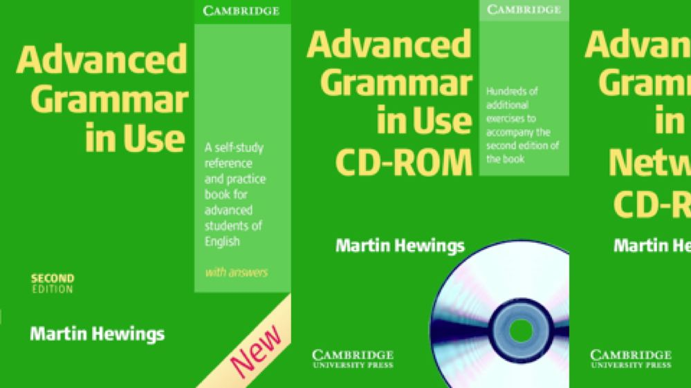 Advanced Grammar in Use Second Edition
