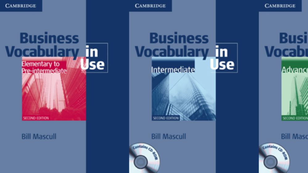Business Vocabulary In Use Second Edition By Cambridge University