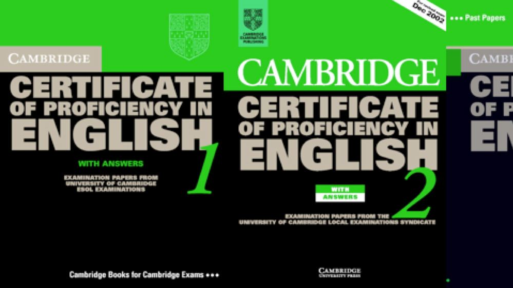 cambridge certificate of proficiency in english pdf
