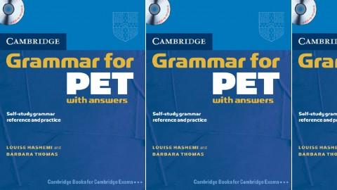 Cambridge Grammar for PET