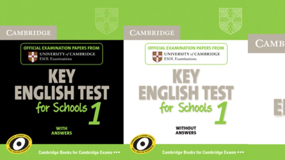 Cambridge Key English Test for Schools