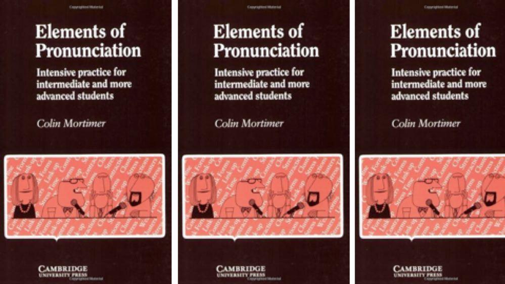 Elements of Pronunciation