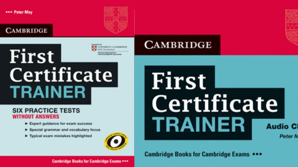 First Certificate Trainer
