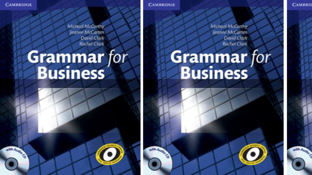 Grammar for Business