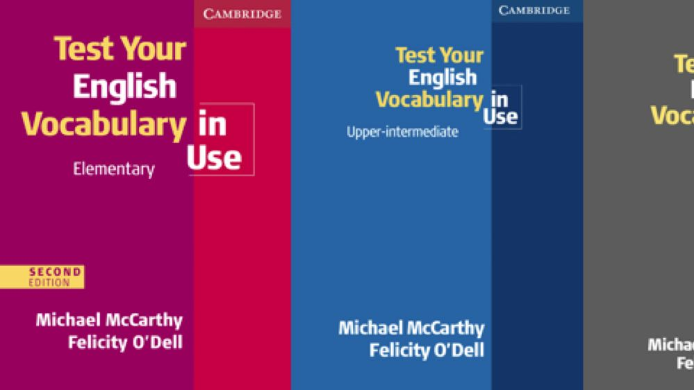 Test Your English Vocabulary In Use By Michael Mccarthy Felicity O