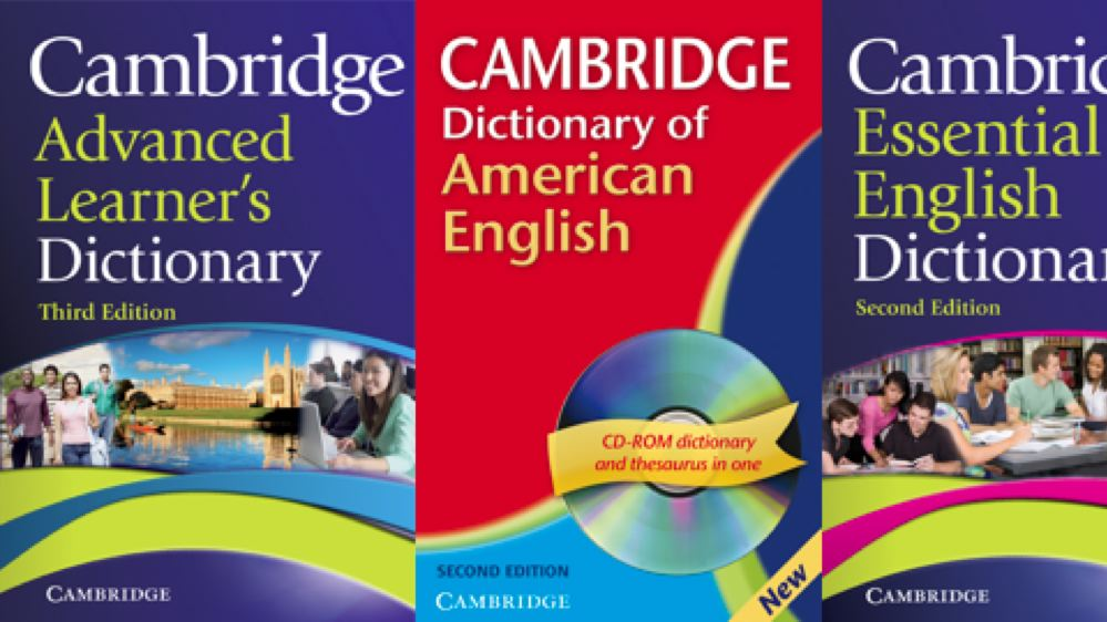 Cambridge Dictionaries