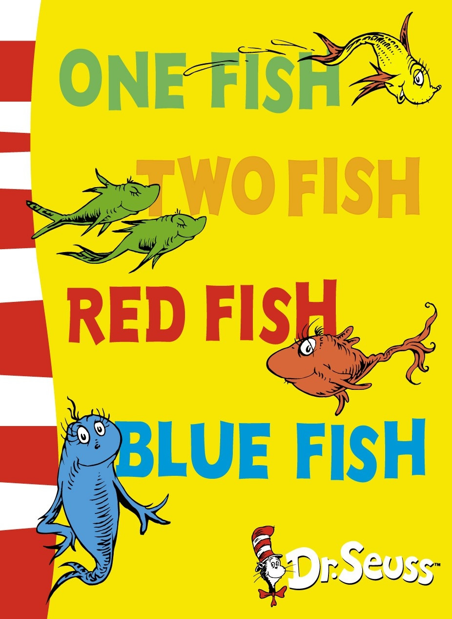 One fish two fish red fish blue fish the eager little for Red fish blue fish dr seuss