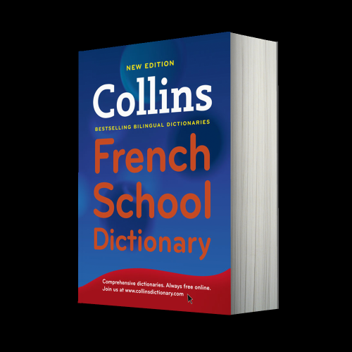 French School Book Cover ~ Collins children and school dictionaries french