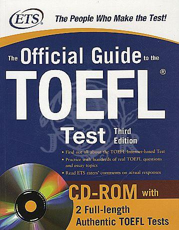 The Official Guide to the New TOEFL iBT (3rd Edi.) with CD-ROM