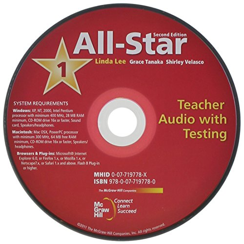 All-Star (2nd Edition) Teacher Audio with Testing (mp3) (Book 1 ( Beginner  ))