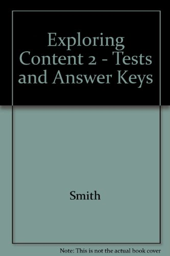exploring content reading for academic success tests and answer keys level 2 by lorraine c. Black Bedroom Furniture Sets. Home Design Ideas