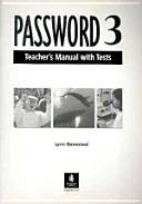 Password 3: A Reading and Vocabulary Text