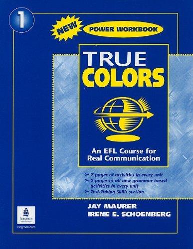 True Colors - Power Workbook (Upper Beginner) by Jay Maurer and ...