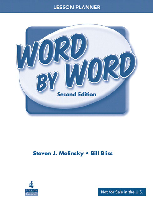 word by word picture dictionary lesson planner beginner upper