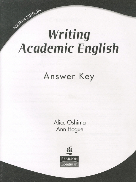 Writing Academic English Fourth Edition