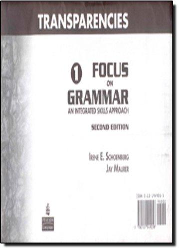 Focus on Grammar Level 1 Second Edition