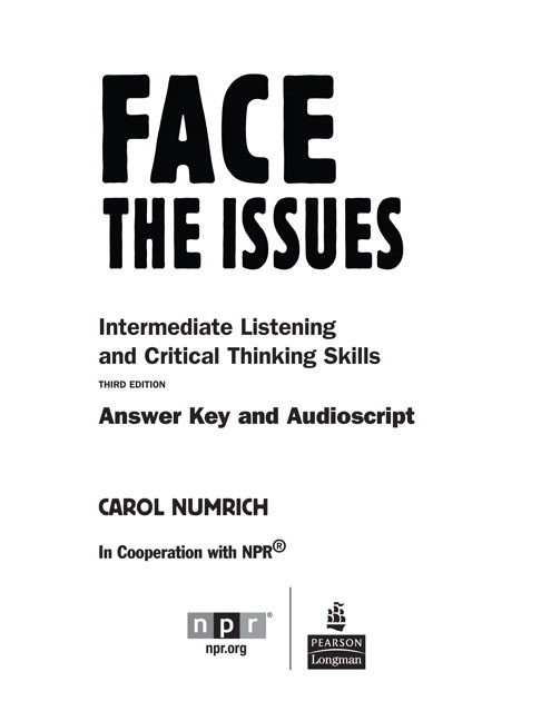 issues series face the issues 3rd edition answer key