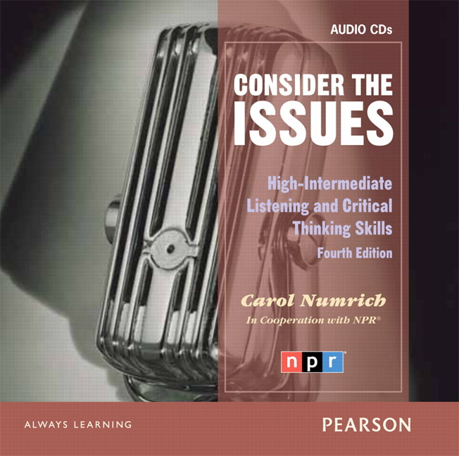 issues series consider the issues 4th edition audio cd high