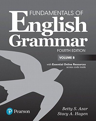 Fundamentals of English Grammar 4th Edition