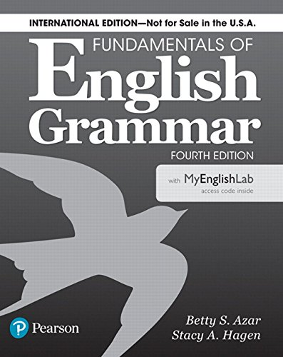 Fundamentals of English Grammar 4th Edition