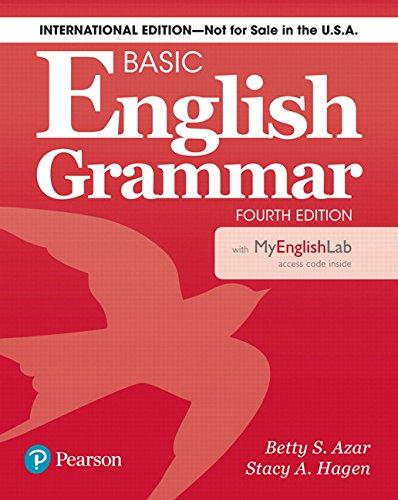 Basic English Grammar 4th Edition