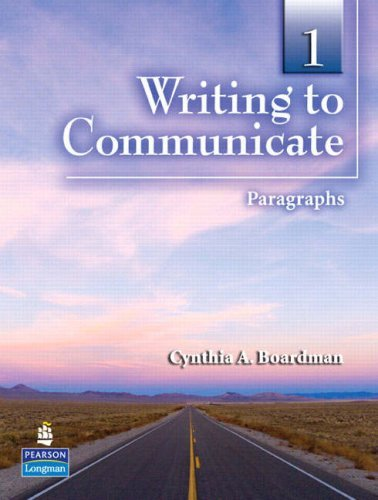Writing to Communicate 1