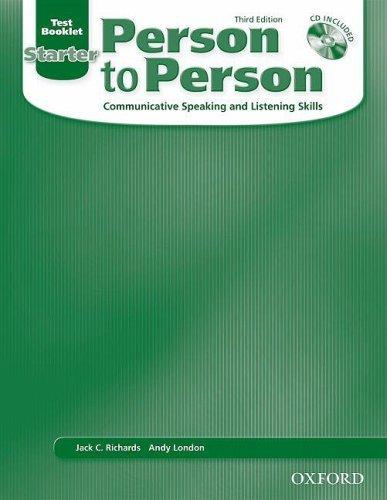 Person to Person Starter (3/E)