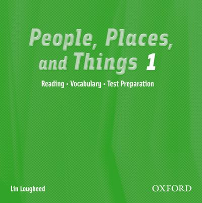People, Places, and Things 1