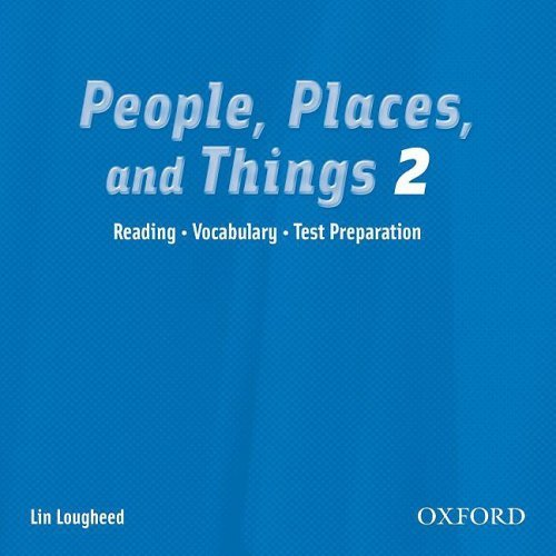 People, Places, and Things Reading