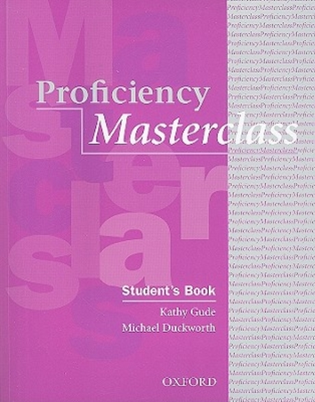 Masterclass Series:Proficiency Masterclass