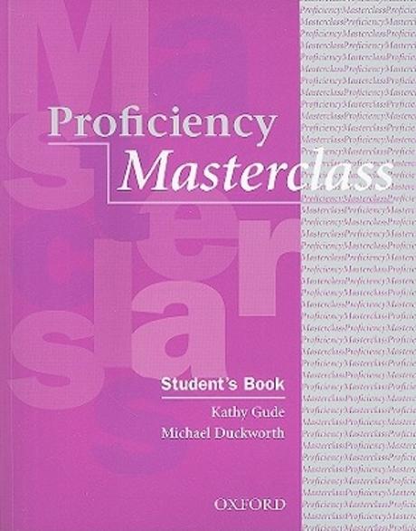 Masterclass Series:Proficiency Masterclass
