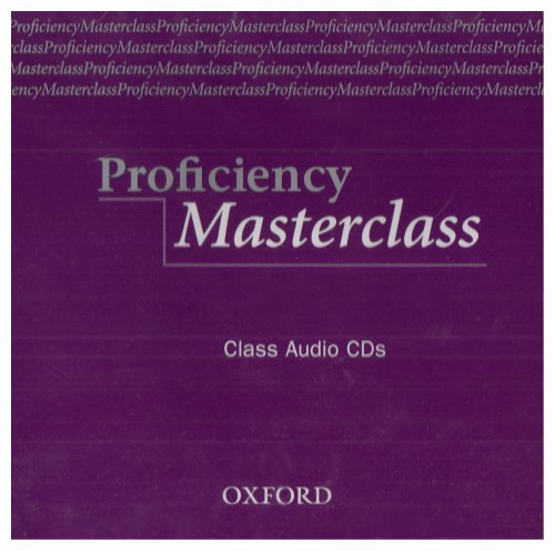 Masterclass Series: Proficiency Masterclass Class Audio CD (2)